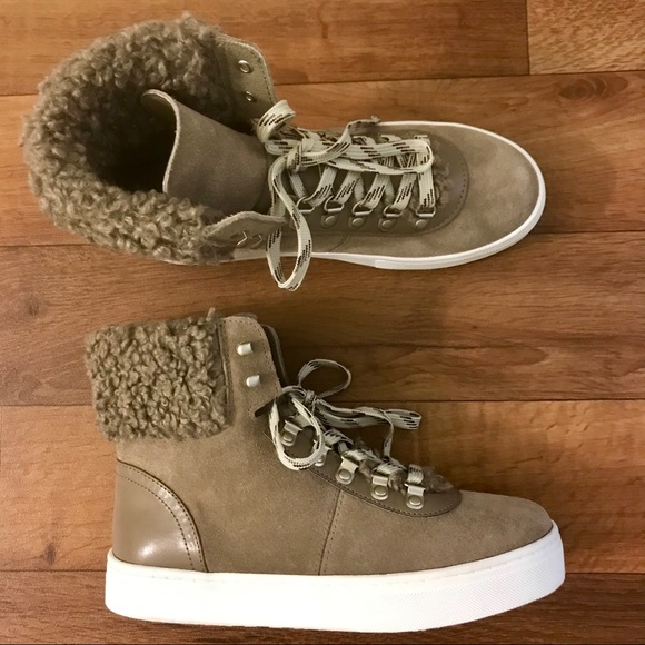 Luther Faux Shearling High